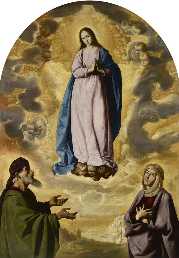 The Immaculate Conception with Saint Joachim and Saint Anne (probably around 1638 - 1640)
