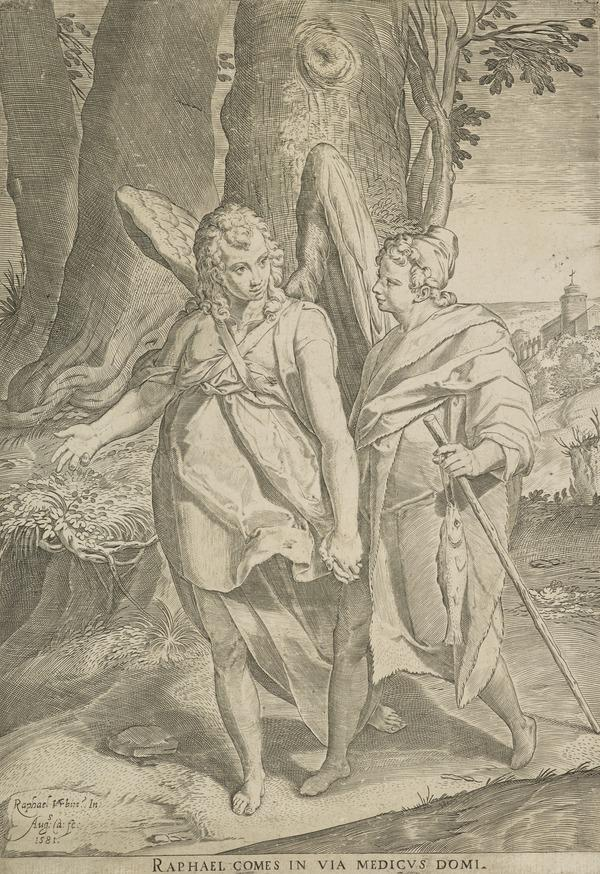 Tobias and the Angel (1581)