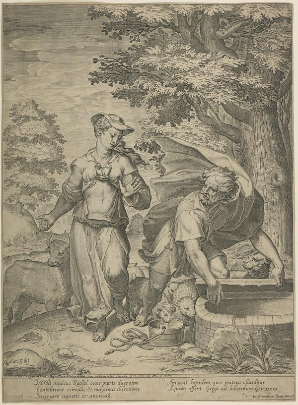 Jacob and Rachel at the Well (1581)