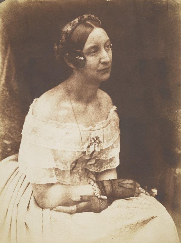 Lady Elizabeth (Rigby) Eastlake, 1809 - 1893. Writer [i]