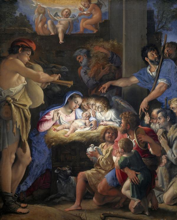 The Adoration of the Shepherds (About 1607 - 1610)
