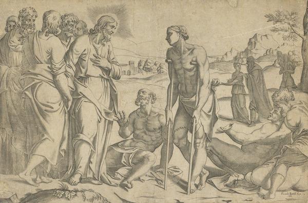 Christ healing the sick (1566)