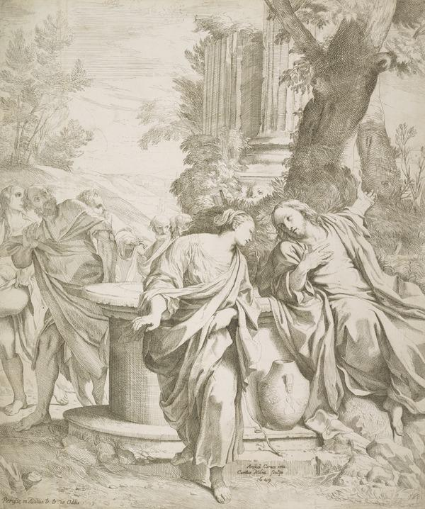 Christ and the Woman of Somaria