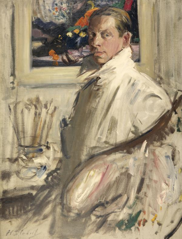 Francis Campbell Boileau Cadell, 1883 - 1937. Artist (Self-portrait) (About 1914)