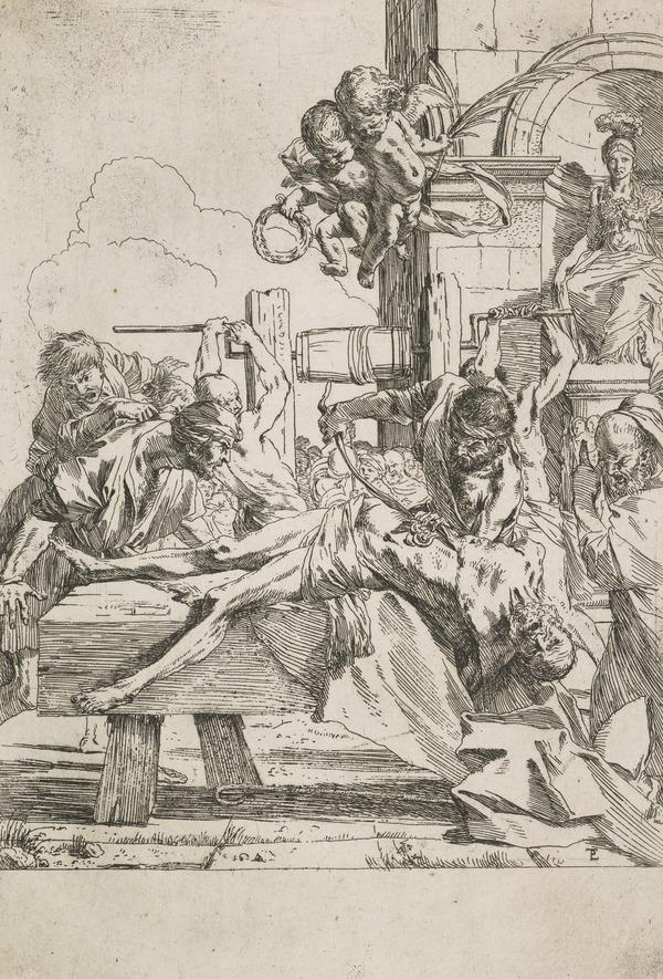 Martyrdom of St Erasmus (B14)