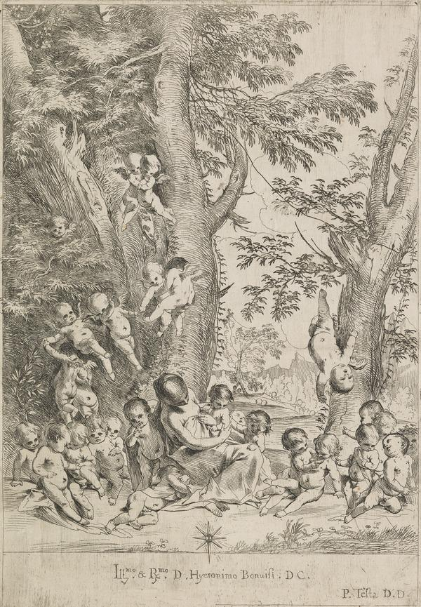 Garden of Charity (vertical) (B28)