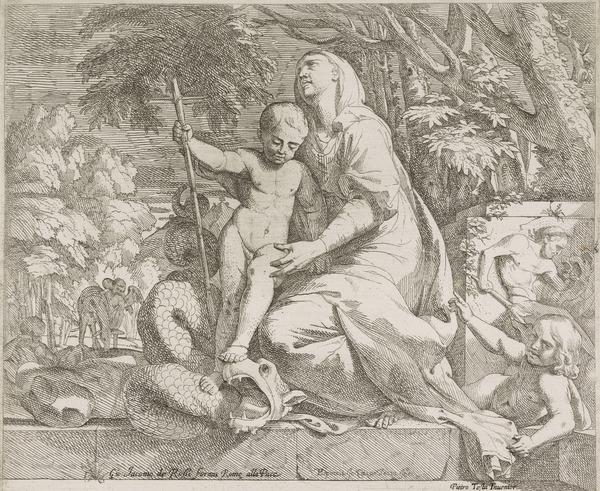 Allegory of the Rest on the Flight into Egypt