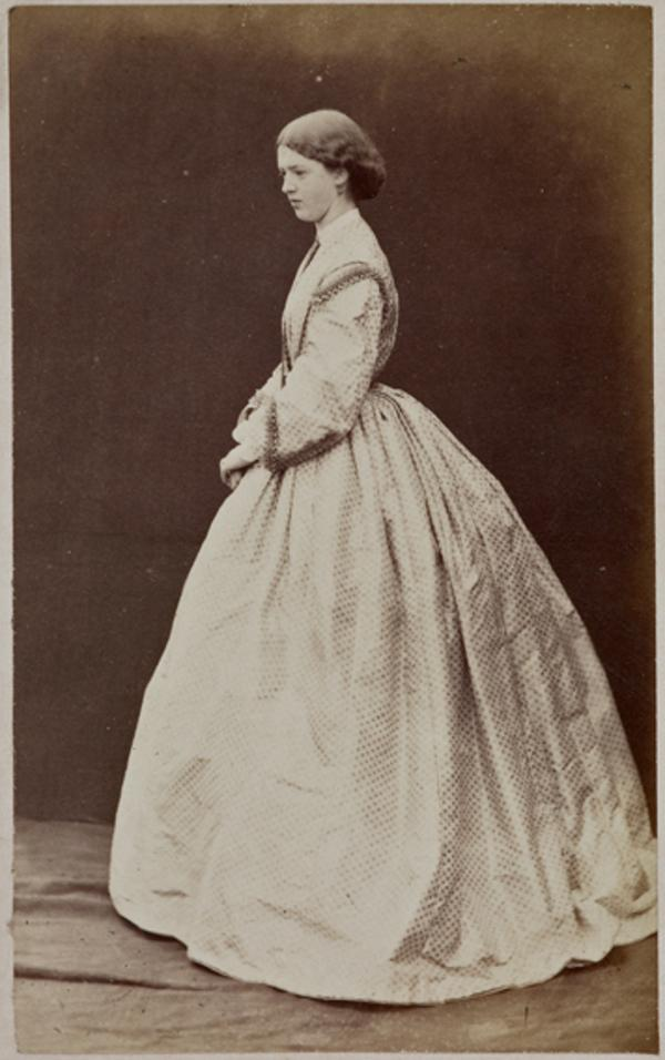Miss H. Moncrieffe (August 1863)