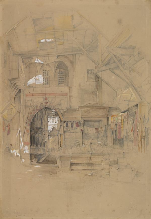 Bazaar at Cairo