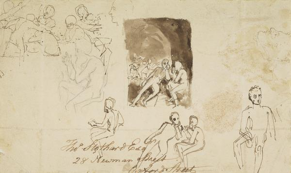 Studies for Illustrations to Sir Walter Scott's 'Rokeby'