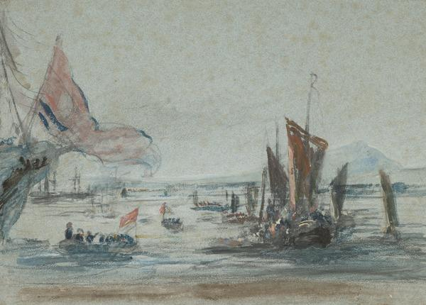 George IV Landing at Leith, 15 August 1822