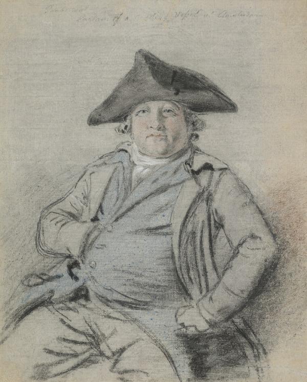 Portrait of a Dutch Sea Captain (About 1750 - 1755)