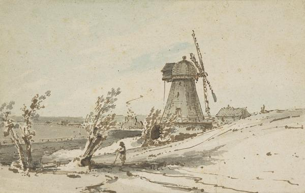 Landscape with a Windmill