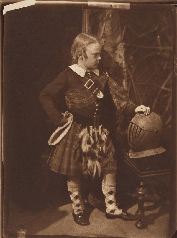 Jimmy Miller. Son of Professor Miller [c] (About 1845)