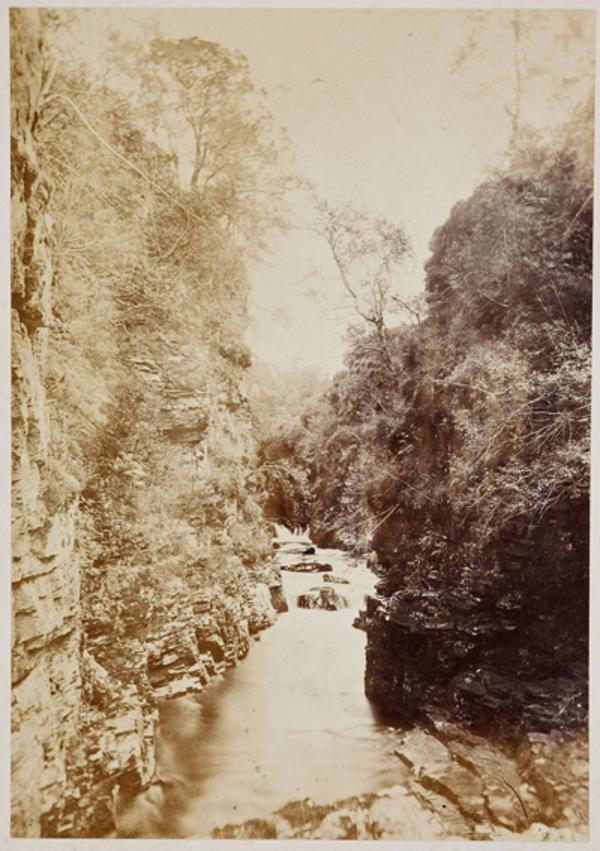 Colonel's Cave, looking east (August or September 1863)
