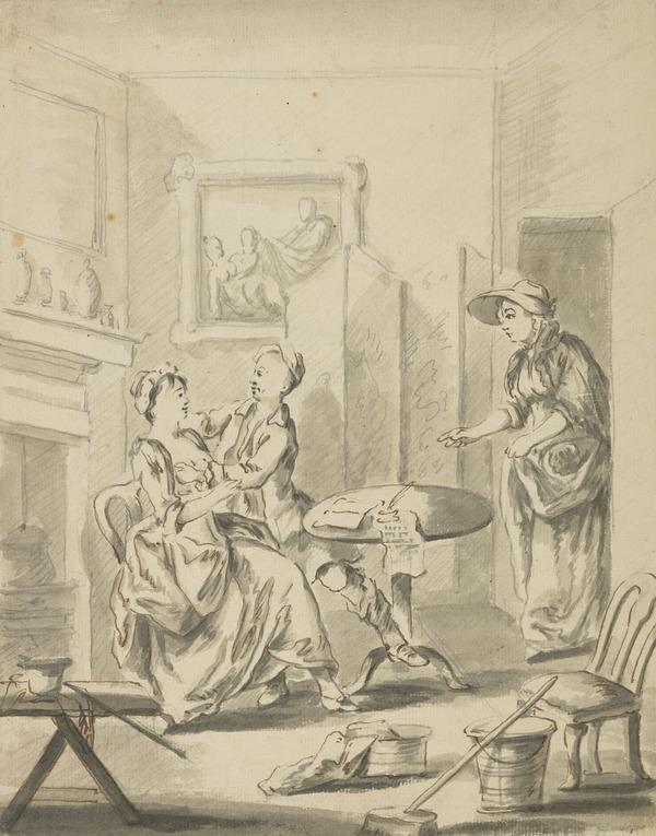Interior with Figures