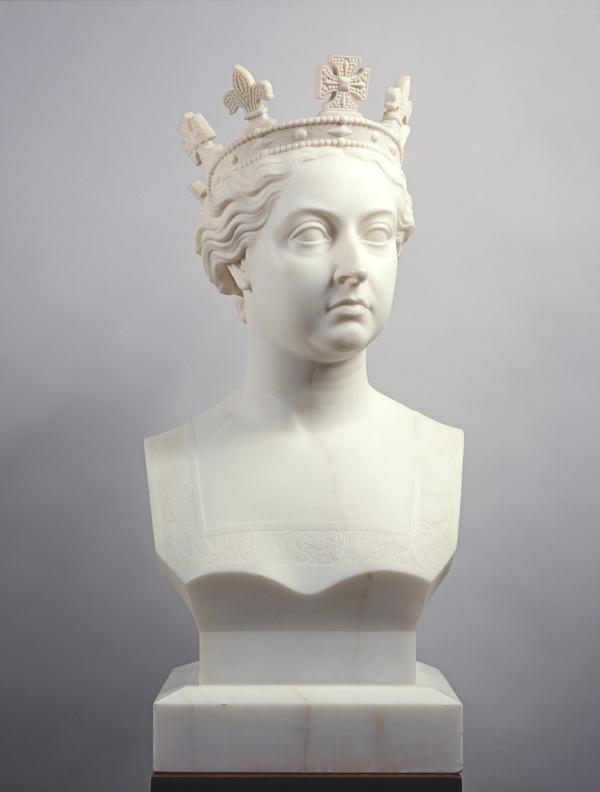 Queen Victoria, 1819 - 1901. Reigned 1837 - 1901 (1865)