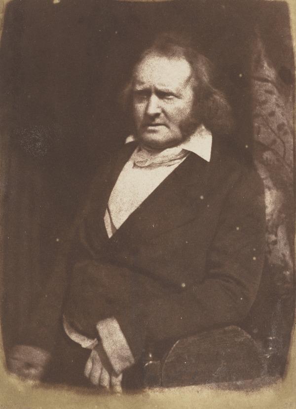 Professor John Wilson (nom de plume, 'Christopher North'), 1785 - 1854. Author and moral philosopher (1843 - 1847)