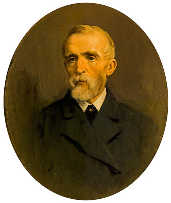John Ritchie Findlay of Aberlour, 1824 - 1898. Proprietor of the Scotsman; founder of the Scottish National Portrait Gallery (Painted 1899)