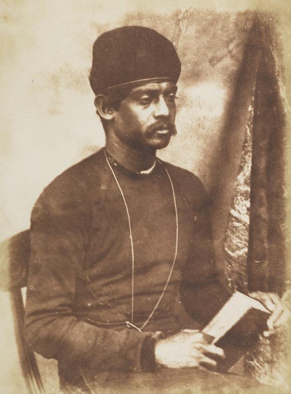 Portrait of an Unidentified Parsi Man, Edinburgh [Unknown man 118] [a] (1843-1847)
