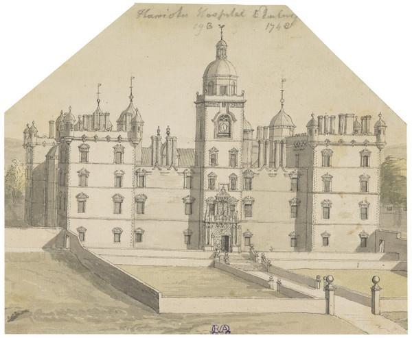 Heriot's Hospital, Edinburgh (1748)