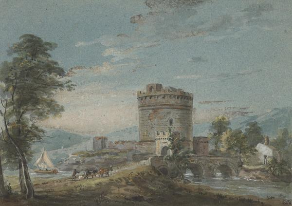 Landscape with a Bridge and Tower
