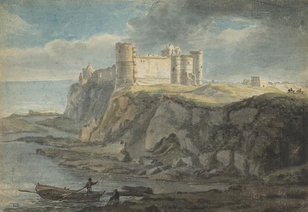 Tantallon Castle (Dated 1750)