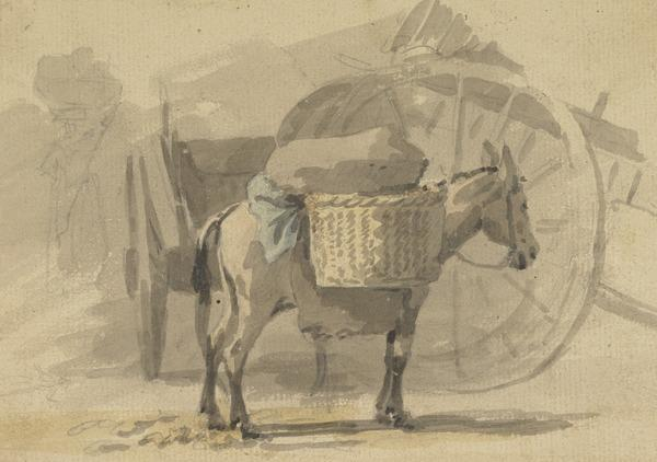 A Donkey with Panniers