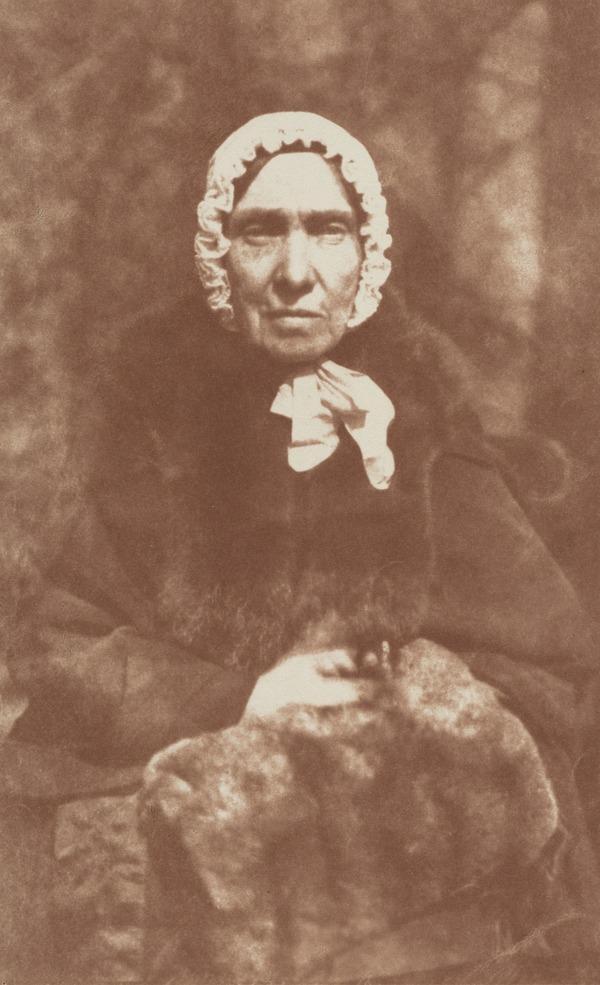 Mrs Isabella (Burns) Begg, 1771 - 1858. Youngest sister of Robert Burns [a] (1843 - 1847)