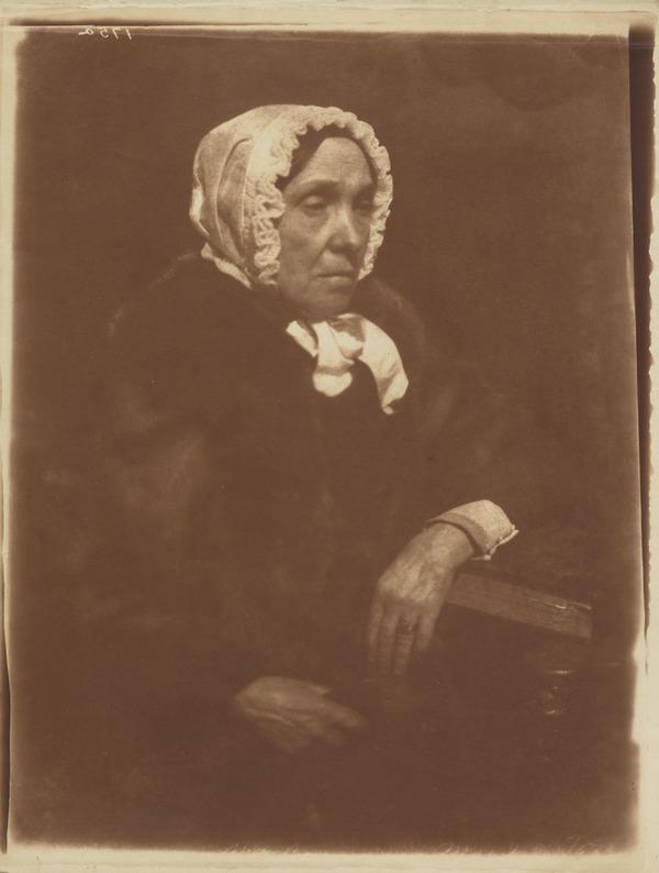 Mrs Isabella (Burns) Begg, 1771 - 1858. Youngest sister of Robert Burns [b]