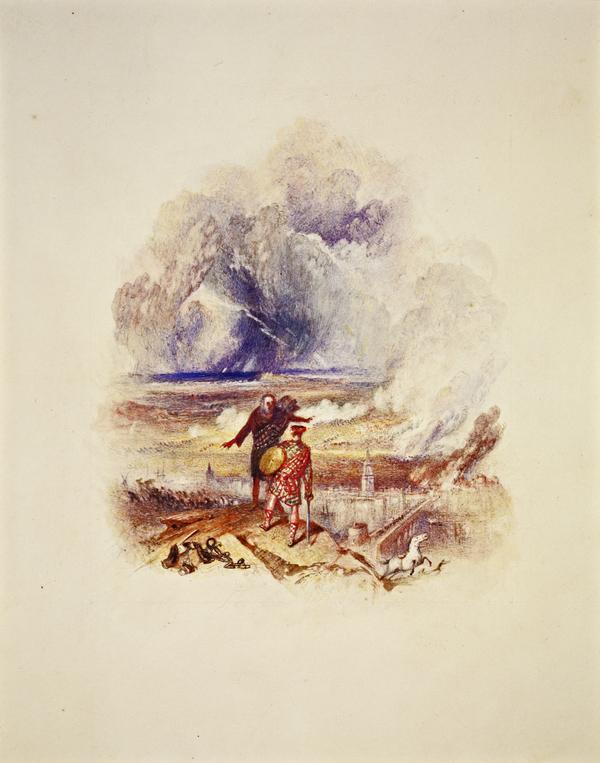 One of Twenty Vignettes - Lochiel's Warning (About 1835)