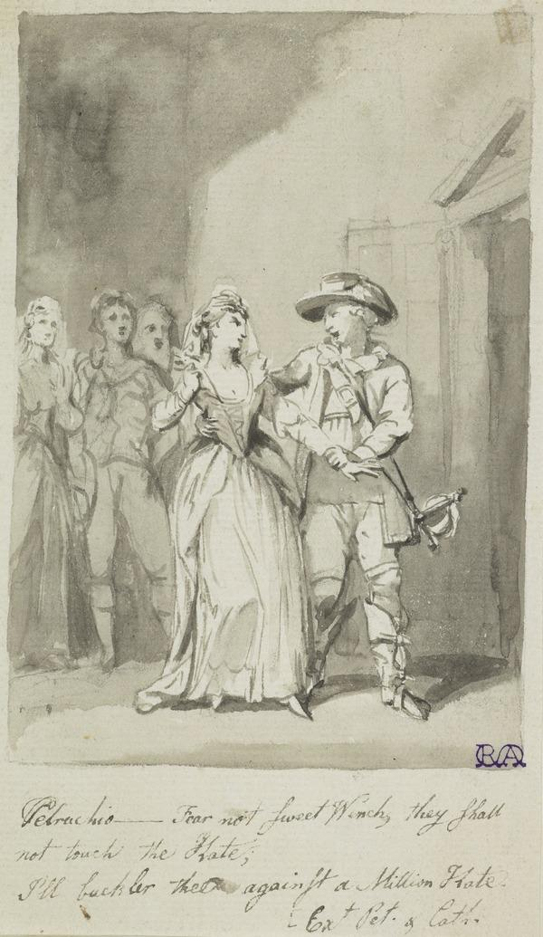 Illustration to Shakespeare. 'The Taming of the Shrew'