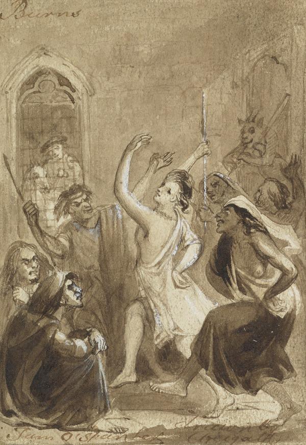 Illustration to Burns's Poem 'Tam O'Shanter'