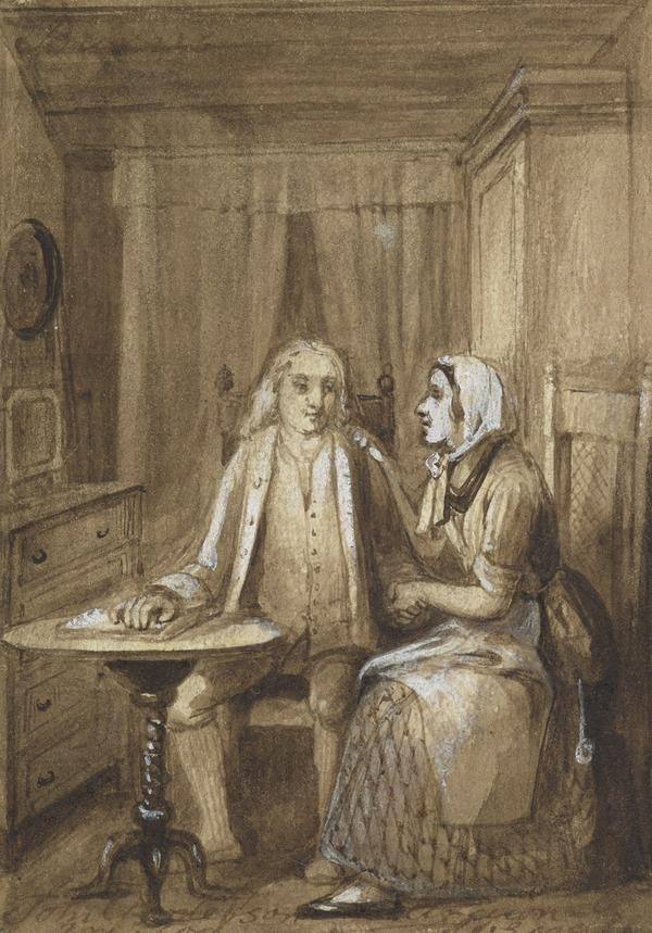 Illustration to Burns's Song 'John Anderson, My Jo'