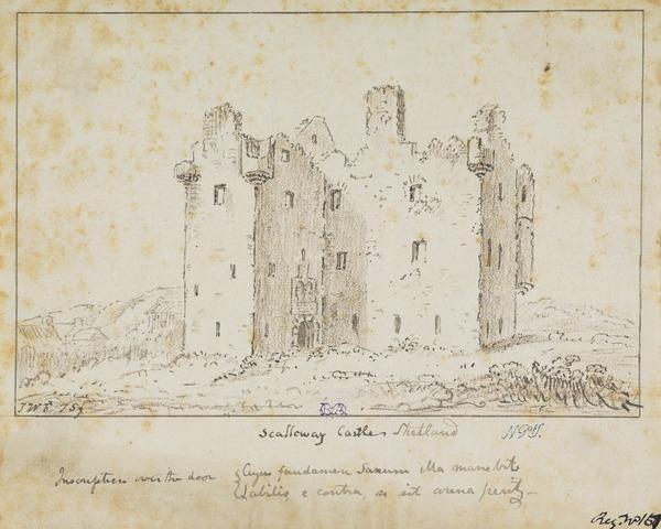 Scalloway Castle, Shetland
