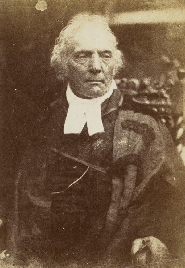 Rev. Thomas Chalmers, 1780 - 1847. Preacher and social reformer [e] (1843 - 1847)