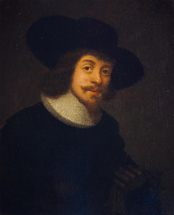 George Jamesone, 1589/1590-1644. Portrait painter (Self-portrait)