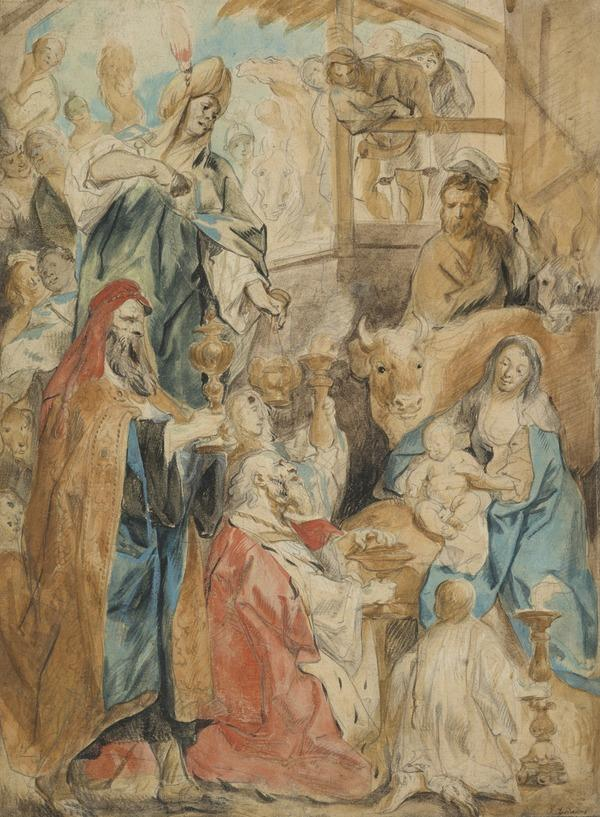 The Adoration of the Magi (About 1640 - 1650)