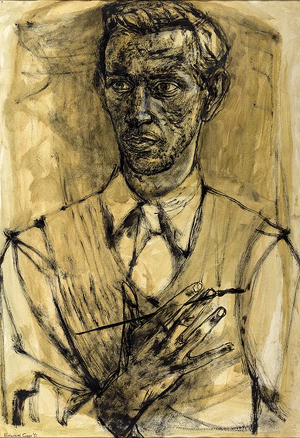 Self-Portrait (Dated 1951)