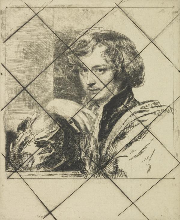 Portrait of Van Dyck (cancelled)