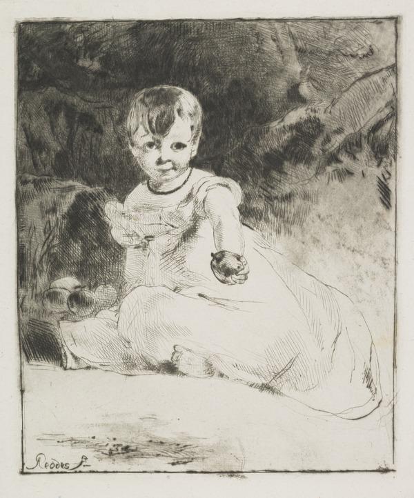 Child with an Apple: Portrait of the Artist's Niece, Agnes Paul