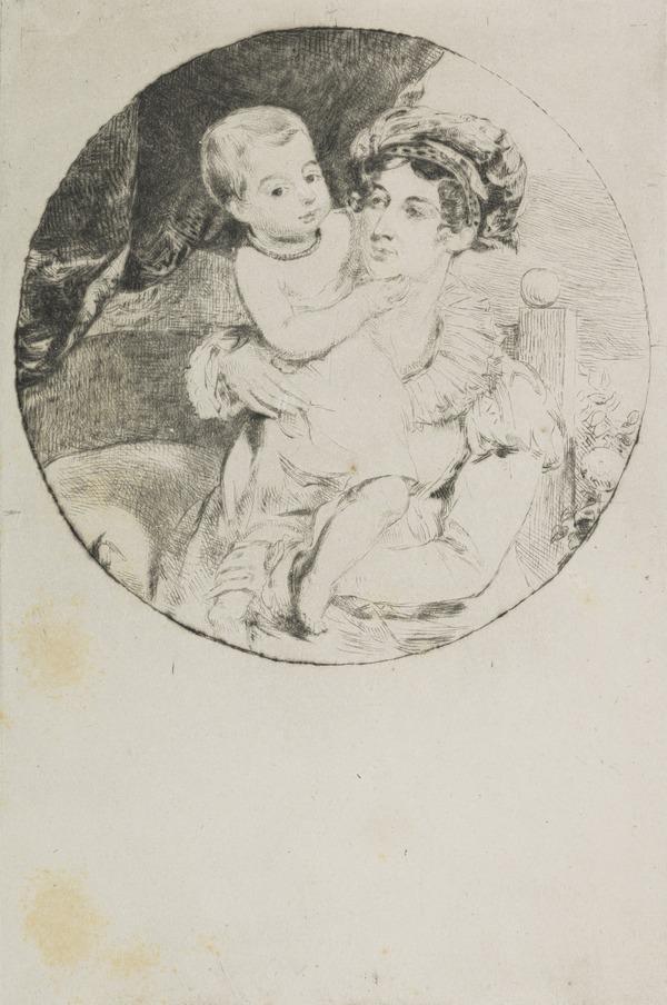 Lady Henrietta Drummond and Child