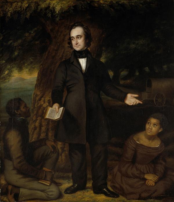 Robert Moffat, 1795 - 1883. Missionary (With John Mokoteri and Sarah Roby) (1842)