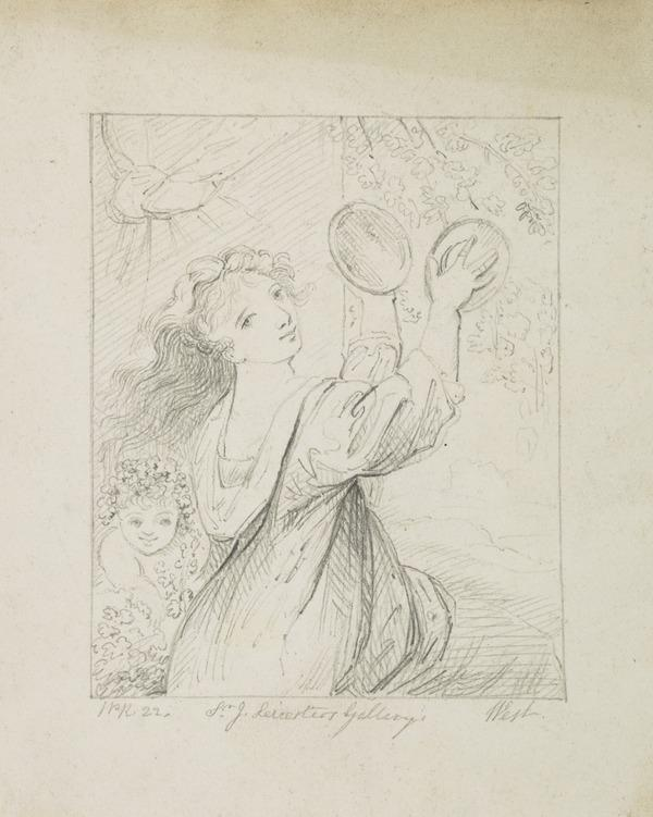 A Bacchante (Dated 1822)