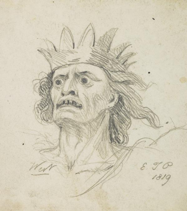 A Demonic King (Dated 1819)