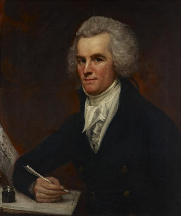 John McArthur, 1755 - 1840. Writer on naval topics (Painted 1795)