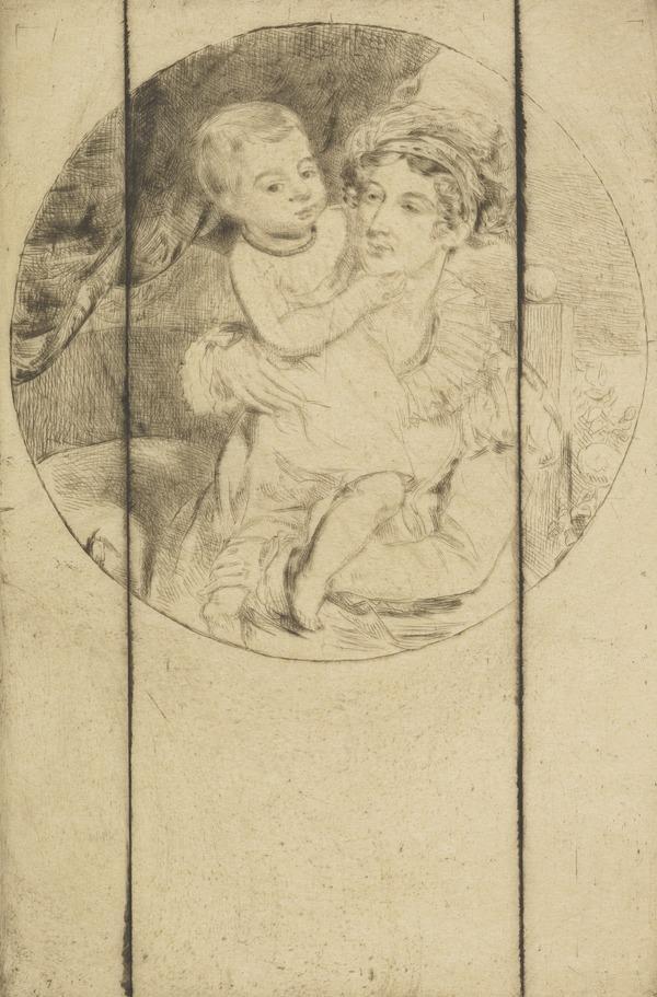 Lady Henrietta Drummond and Child (cancelled)
