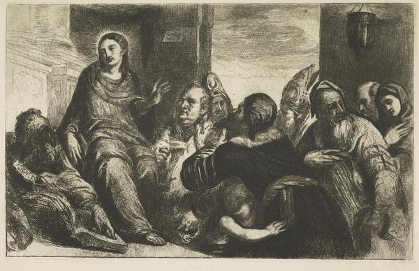 Christ Disputing with the Doctors in the Temple