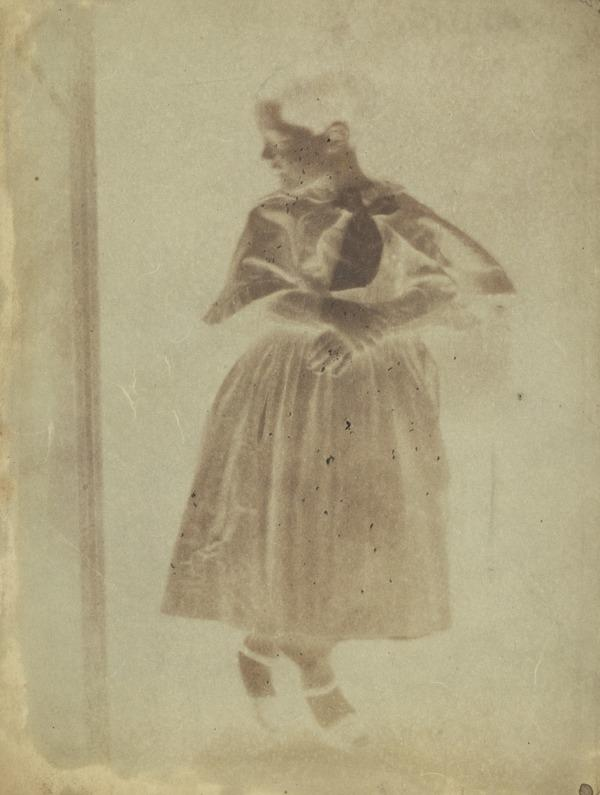 Charlotte Hill, 1839 - 1862. Daughter of David Octavius Hill [a] (1843 or 1844)