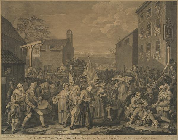 The March to Finchley (1750)